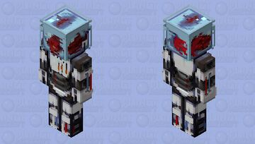 Robot Fish Minecraft Skin