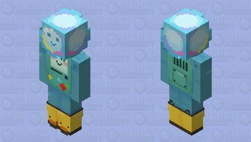 BMO & Bubble Minecraft Skin