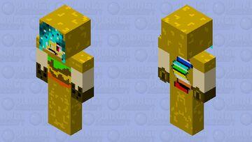 RedpandaRAPP hamburger suit XD Minecraft Skin