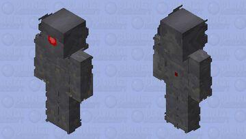 Transformers: Dark of the Moon Shockwave Minecraft Skin