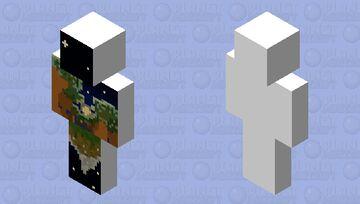 Night Sky BEDROCK Minecraft Skin