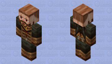 Monk Trainer   2X HD Minecraft Skin