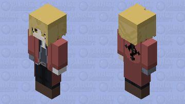 Fullmetal Alchemist - Edward Elric Minecraft Skin