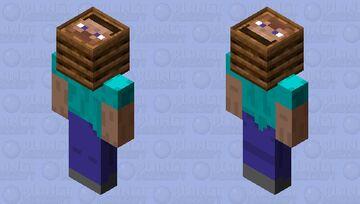 Composter Steve Minecraft Skin