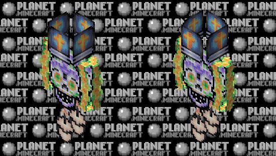 Elements of an altar | Pixel art Minecraft Skin