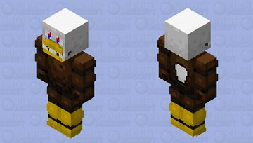 Charles the eagle Minecraft Skin