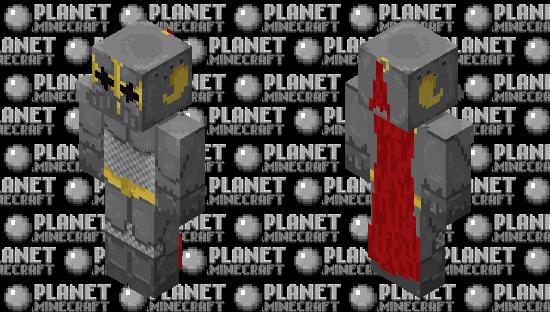 Corrupt Knight Minecraft Skin