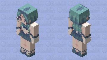 Sailor Neptune HD 128x128 Minecraft Skin