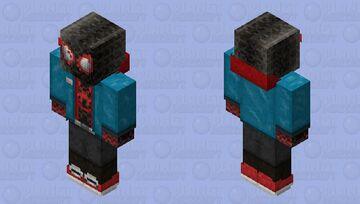 Spider-Man - Miles Morales Minecraft Skin