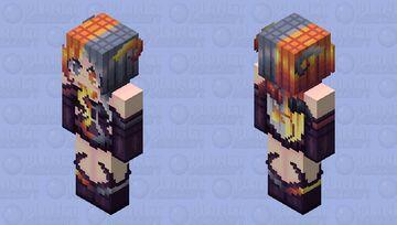 | Definitive Flames | ~* Marma *~ HD Persona Skin Minecraft Skin