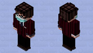 James Bond/Marvel Fusion - Agent 15 (Spider-Sona) HD Skin Minecraft Skin