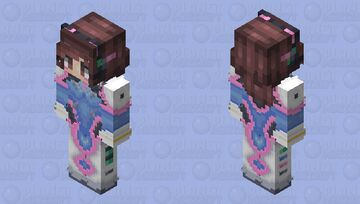 D.va (HD) Minecraft Skin