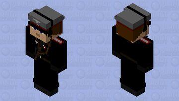 GERMAN PANZER OFFICER RADIO HEADSET Minecraft Skin
