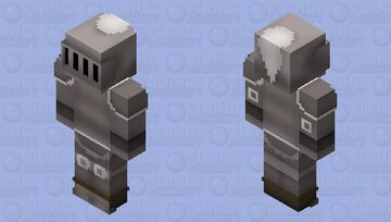 Steel Armour Set (t) | OSRS Minecraft Skin