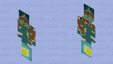 Upside down Minecraft Skin