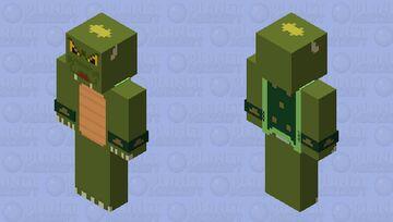 The Super Mario Bros. Super Show! - King Koopa Minecraft Skin