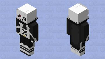 Empireverse Cross Sans Minecraft Skin