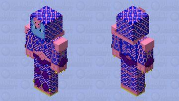 JJBA King Crimson (blue version) Minecraft Skin