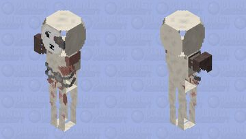 cyborg newborn Minecraft Skin