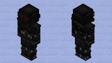 The Mandalorian - Dark Trooper Minecraft Skin