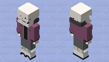 SwapFell Papyrus Minecraft Skin