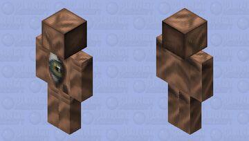 True Realism with a defective eye. Minecraft Skin