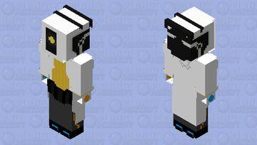 Dr. W. D. GLaDOS (Doctor WingDing GLaDOS) Minecraft Skin