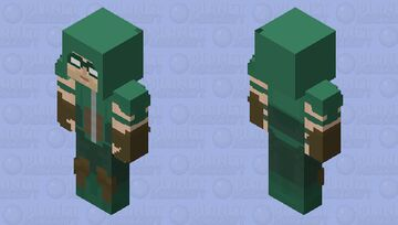 Green arrow. HD Minecraft Skin