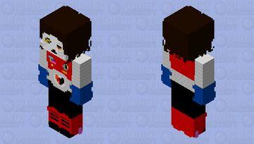 RDD without jacket Minecraft Skin
