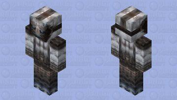 Prison Guard Ghoul   2X HD Minecraft Skin