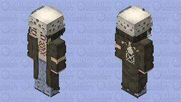 Trafalgar D. Water Law - One Piece Minecraft Skin
