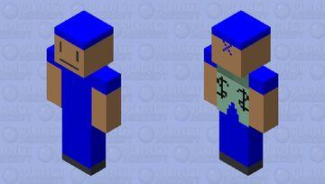 ninja elytra Minecraft Skin