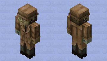 Valentine detective agency (redone in HD) Minecraft Skin
