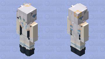 Hololive / Shirakami Fubuki but it's an HD skin wOAH Minecraft Skin