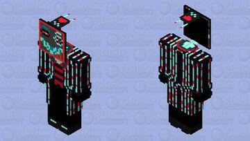 Vox the TV Demon | Hazbin Hotel Minecraft Skin