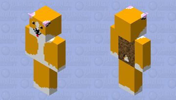 Corgi dog Minecraft Skin