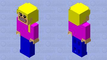 Lego realistic girl (new) Minecraft Skin