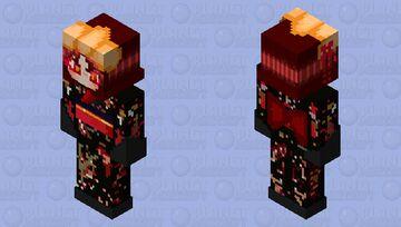 Mai tsurugi in a kimono (Kimigahsine) (your turn to die) Yttd Minecraft Skin