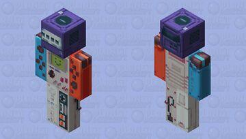 Ninten-Bot 9000 Minecraft Skin