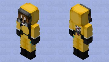 Hazmat Guy Minecraft Skin