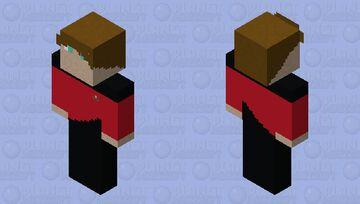 Star Trek TNG Captain Minecraft Skin