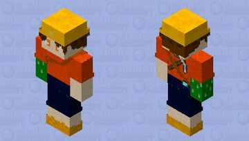 Goblin-Handed Miner Minecraft Skin