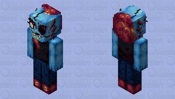 Undyne - Undertale Minecraft Skin