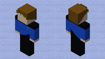 Star Trek TNG Lieutenant Doctor Minecraft Skin
