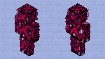 Crimson X Minecraft Skin