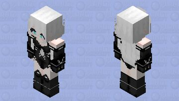 Black Heart HD (Hyperdimention Neptunia) Minecraft Skin