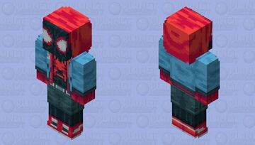 Spider-Man: Into the Spider-verse - Miles Morales Minecraft Skin