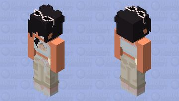 without glasses Minecraft Skin
