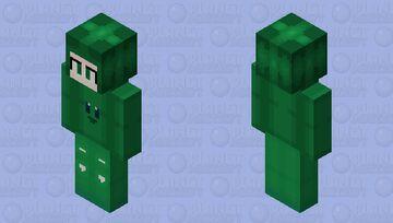 Human Green Kirby Minecraft Skin