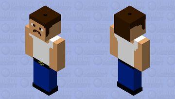 Freddie Mercury Minecraft Skin